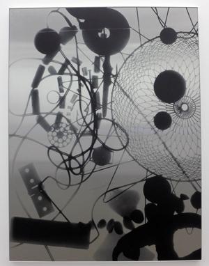 Jens Johannessen, Uten tittel, 2014, gicleè-trykk på aluminium, 198 x 149,7 cm, privat samling. Foto: Anita W. Lande.