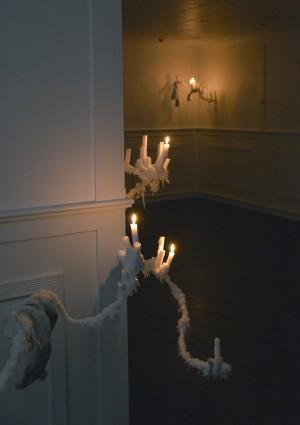 Tor Erik Bøe, fra utstillingen Sloppy Sculptures, Nebbet. Foto: Sigrid Bendz