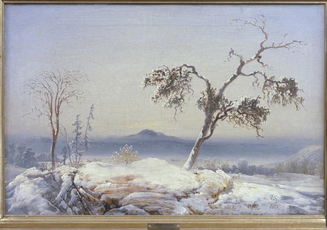 Peder Balke,  Finnmark Landscape,  about 1860. Collection of Asbjørn Lunde