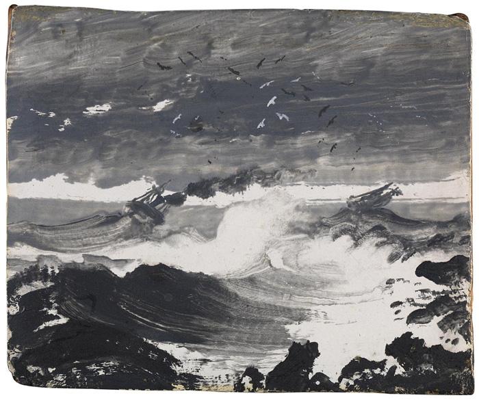 Bortsett fra noen få private samlinger finnes det knapt noen bilder av Peder Balke utenfor Norden. «Stormen» (cirka 1862) er det eneste maleriet i National Gallerys samling. De fikk det i gave av en kjent gallerist i 2011. Etter denne utstillingen regner mange med at prisene vil stige betydelig. Foto: The National Gallery, London