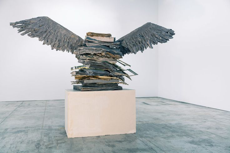 Kiefer, The Language of the Birds, 2013. Lead, metal, wood and plaster. 325 x 474 x 150 cm. Private Collection. © Anselm Kiefer. Photography: Anselm Kiefer