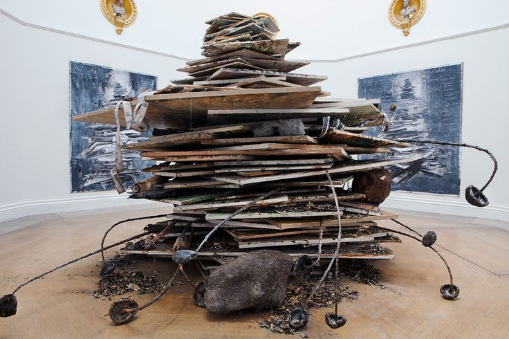 Anselm Kiefer, Ages of the World, 2014. Private collection. Photo courtesy Royal Academy of Arts. Photography: Howard Sooley / © Anselm Kiefer