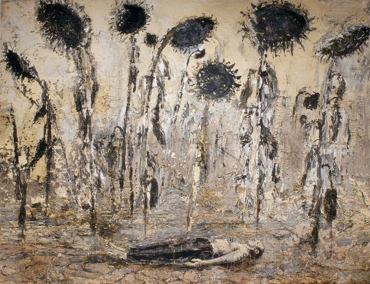 Anselm Kiefer, The Orders of the Night, 1996. Emulsion, acrylic and shellac on canvas. 356 x 463 cm. Seattle Art Museum. Gift of Mr. and Mrs. Richard C. Hedreen. Photo Seattle Art Museum / © Anselm Kiefer