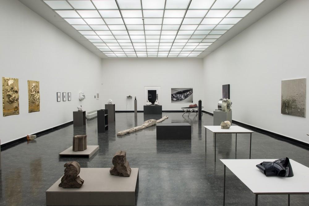 Installasjonsfoto fra 'The Noing Uv It' ved Bergen Kunsthall. Foto: Thor Brødreskift
