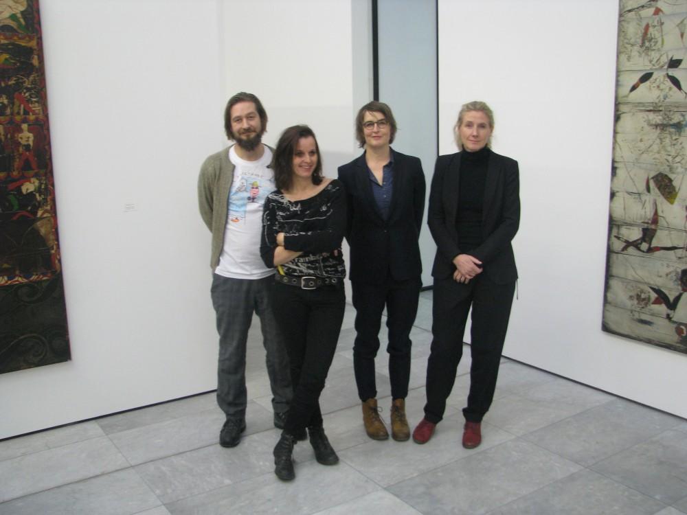 F.v.: Snorre Ytterstad, Jana Winderen, Vanessa Baird og Ane Hjort Guttu. Foto: Gustav Svihus Borgersen
