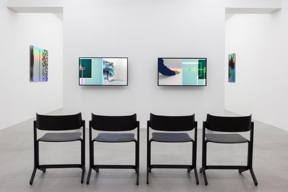 Anna Barham, installation images fromLiquid Liquid at Galerie Nordenhake, 2015. Courtesy: Galerie Nordenhake Stockholm and the artist Foto: Carl Henrik Tillberg