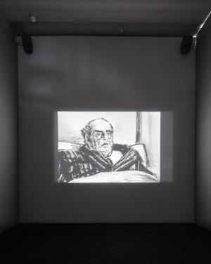 William Kentridge 10 Drawings for Projection, 1989-2011. Foto: Per Kristiansen / Bonniers Konsthall